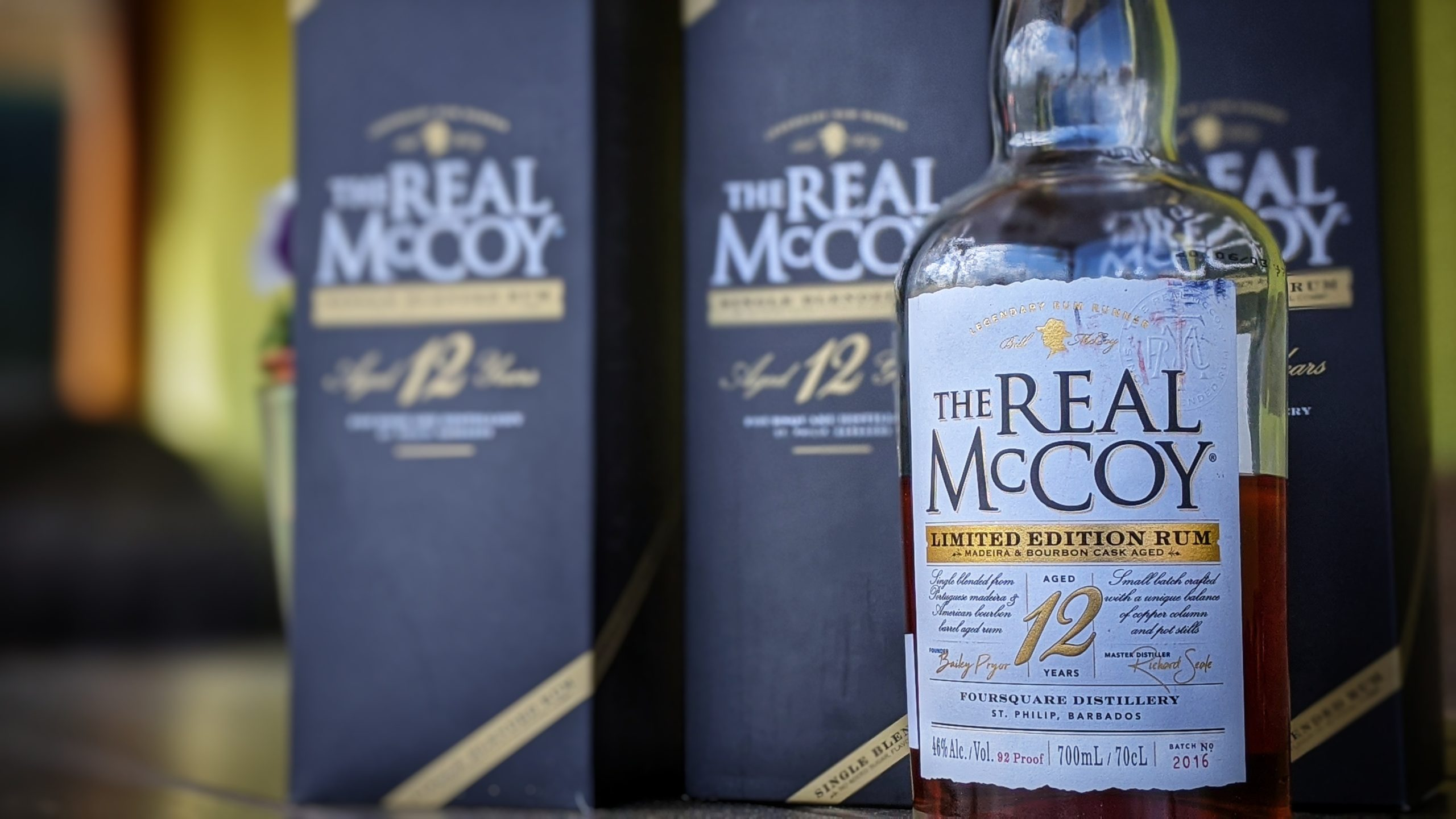 The Real McCoy 12 Limited Edition – dezertní rum